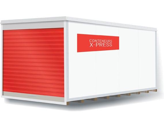 louer un entrepôt mobile